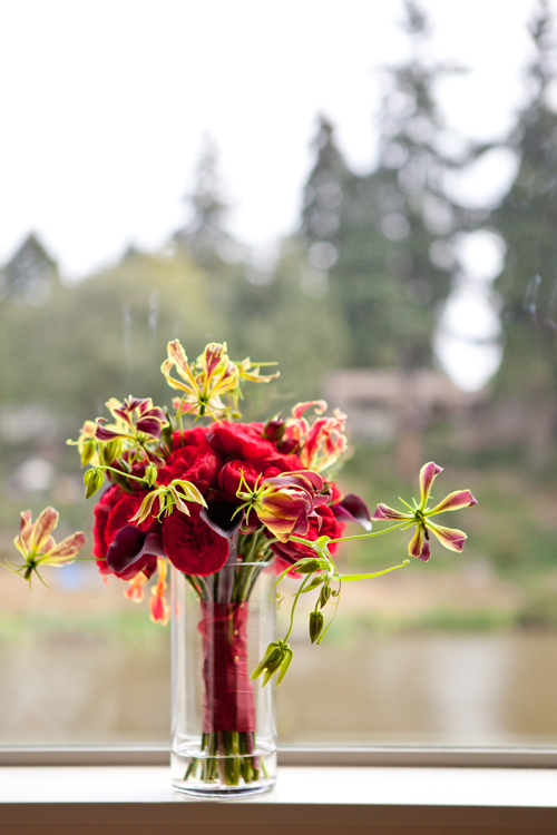 oregon wedding bouquet