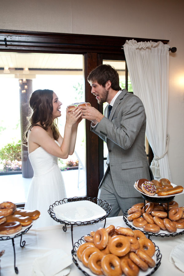 donut wedding dessert