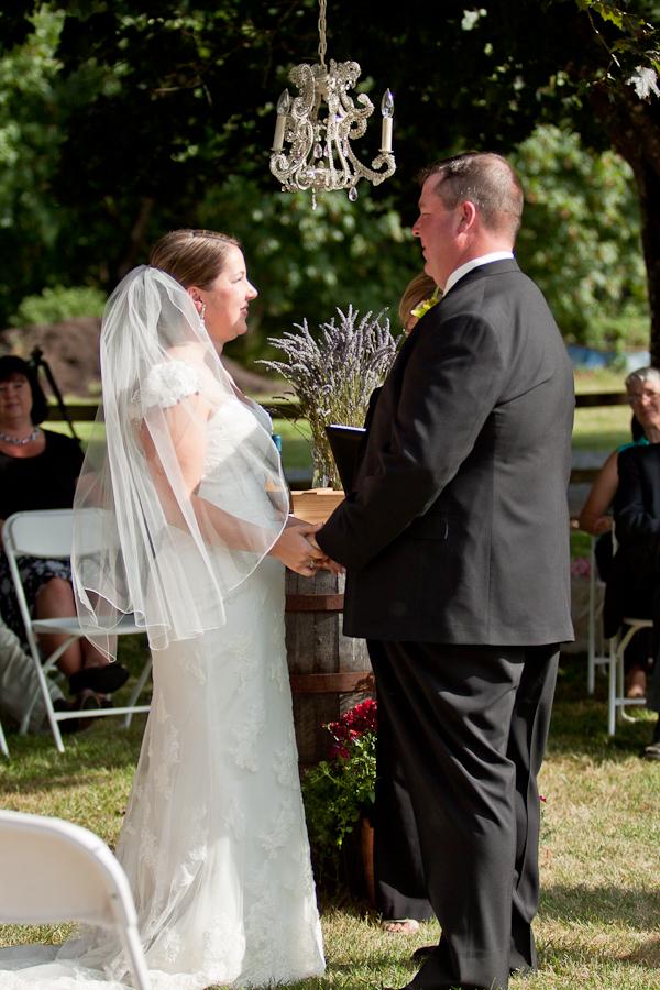 Kristen Aubert Matt Lydon Wedding Ceremony