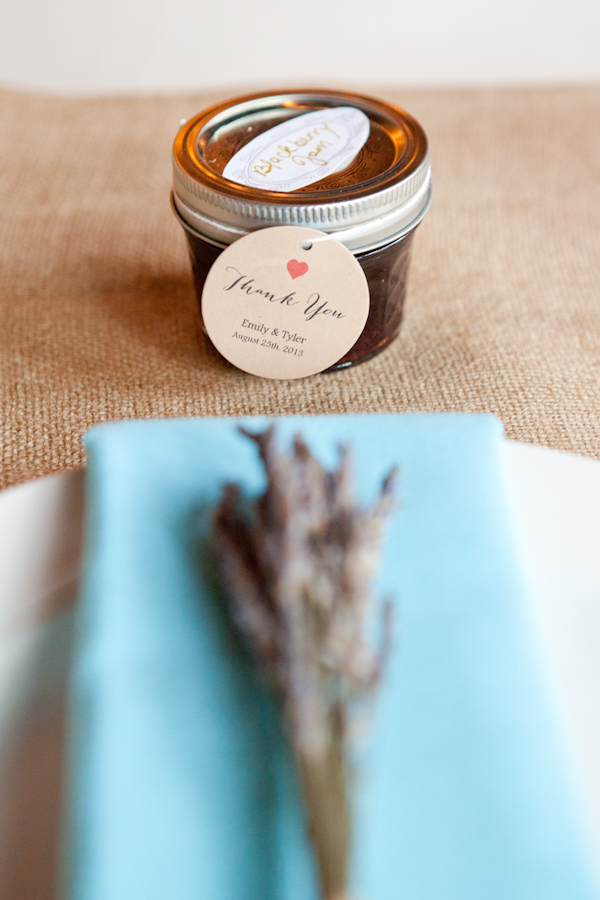 blackberry jam wedding gift