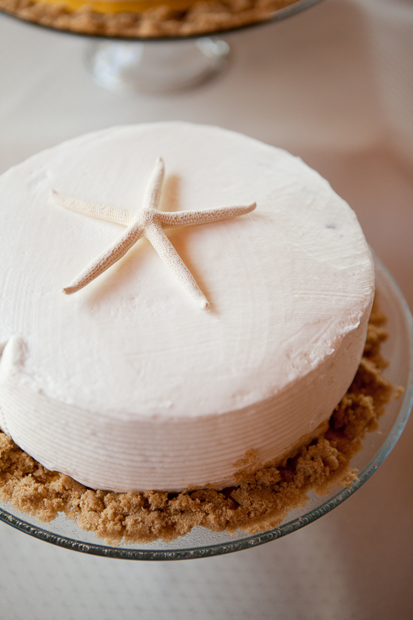 starfish wedding cake topper oregon