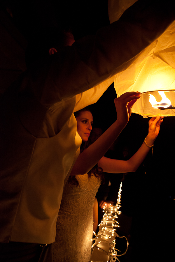 oregon lanterns release wedding