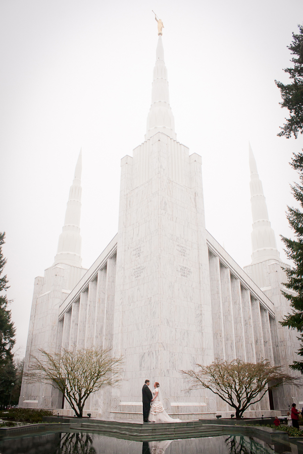 Portland Oregon LDS Temple Wedding