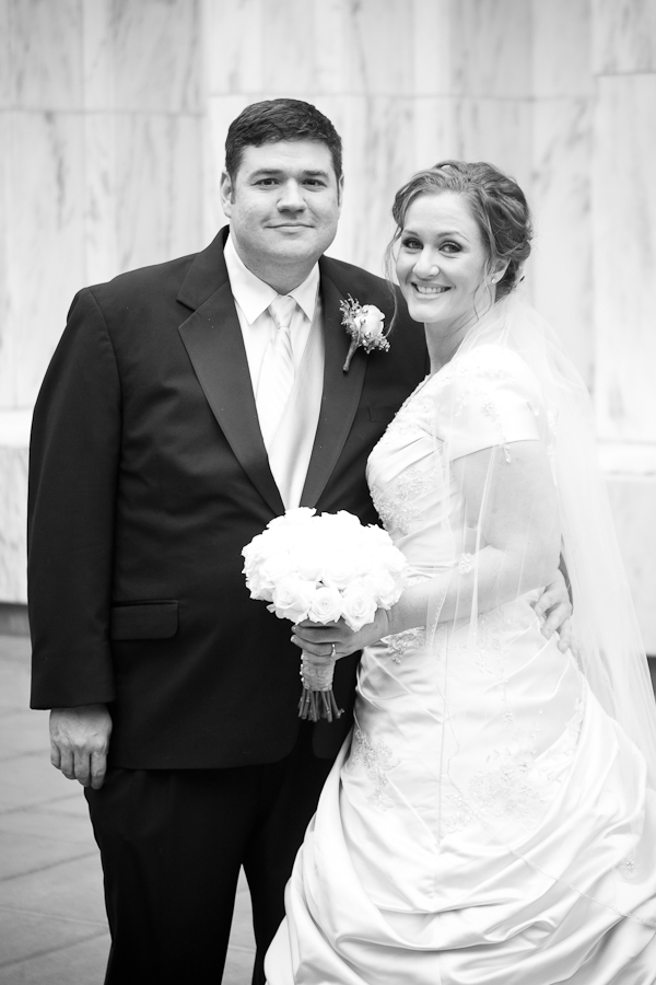 Portland LDS Temple Wedding Portraits