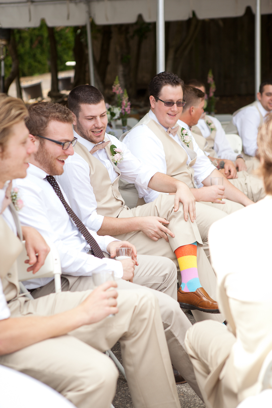 groomsmen fun colorful socks