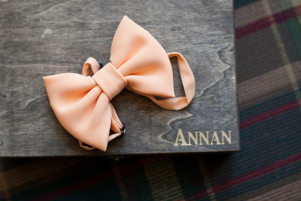 coral_colored_bowtie_groomsmen