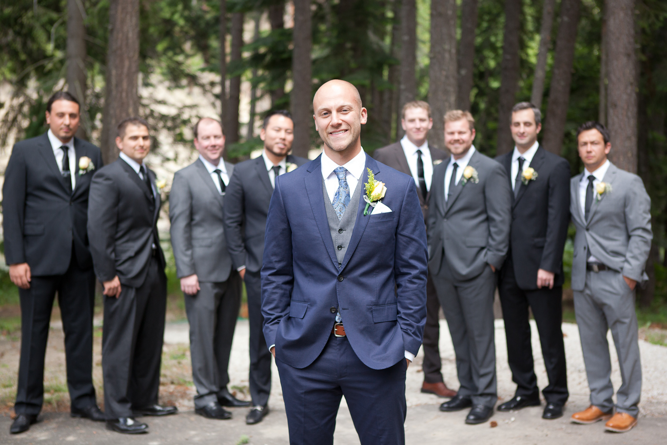 groomsmen grey suits
