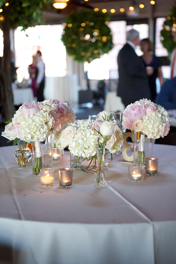peonies-hydrengas-roses-wedding-centerpieces-mercury-glass