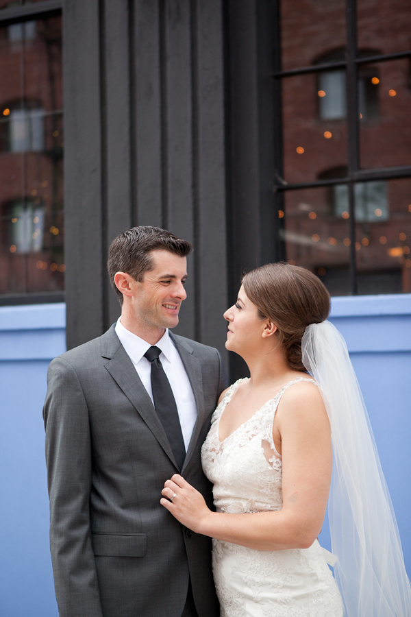 portland-wedding-portrait-blue-wall