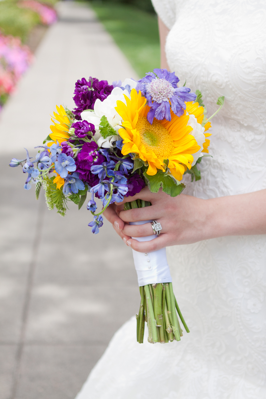 sunflower_purple_blue_wedding_bouquet_portland