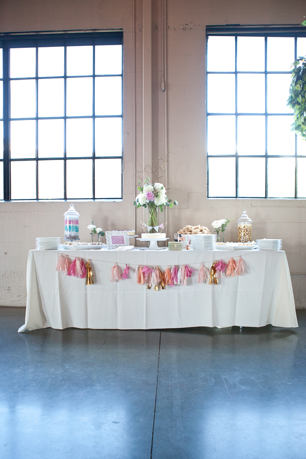 wedding-dessert-table-candy-bar-pink-gold