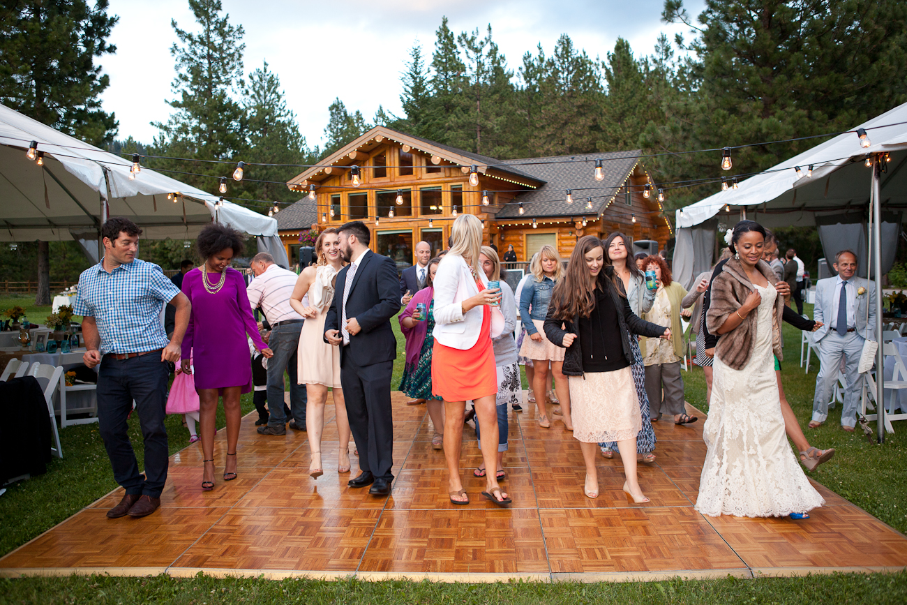 wedding reception leavenworth washington