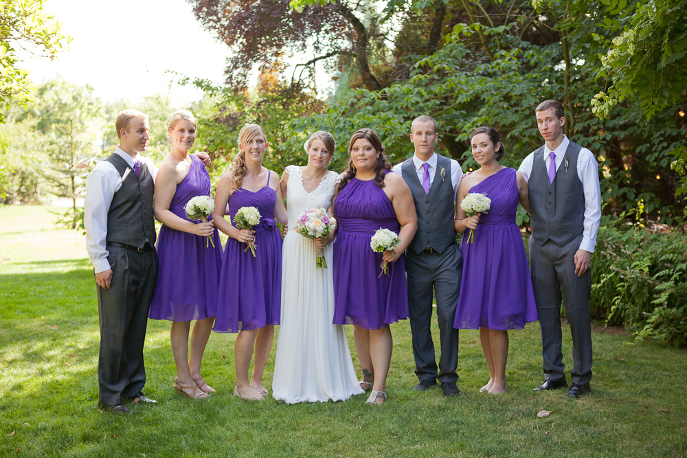 brides_attendants_purple_girls_and_boys