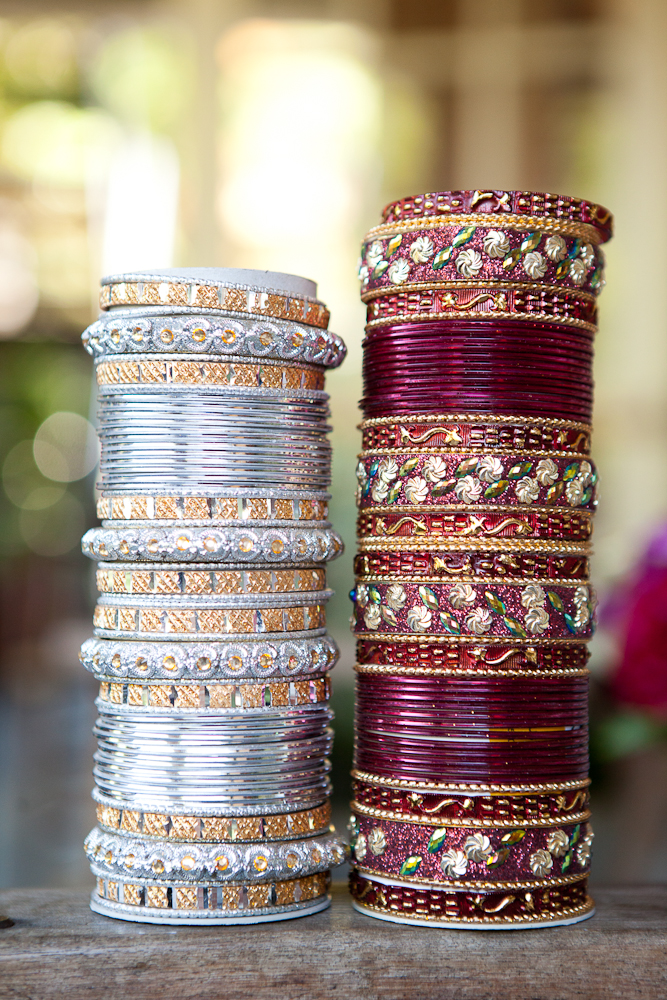 red_and_silver_indian_bangles