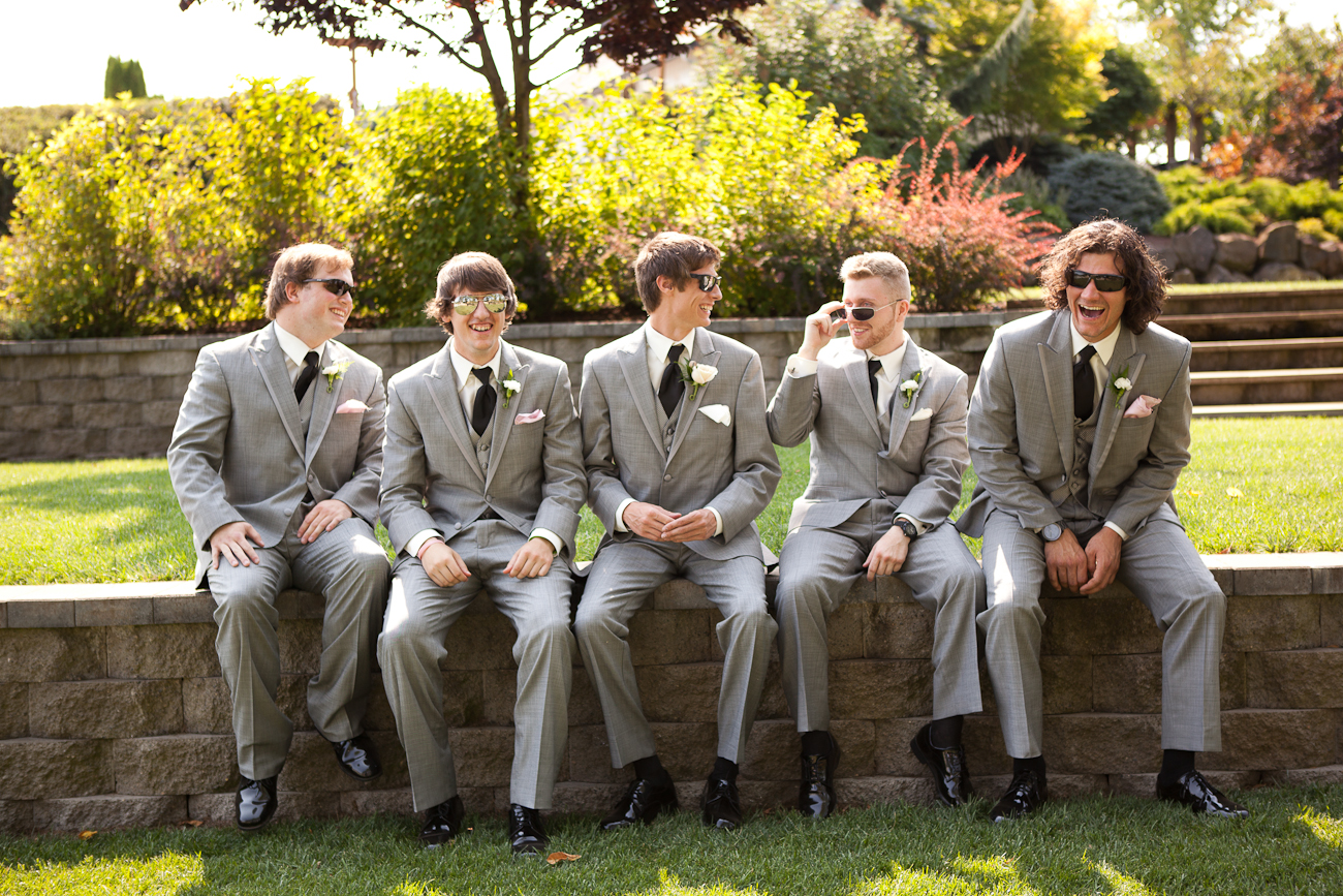 sitting-groomsmen