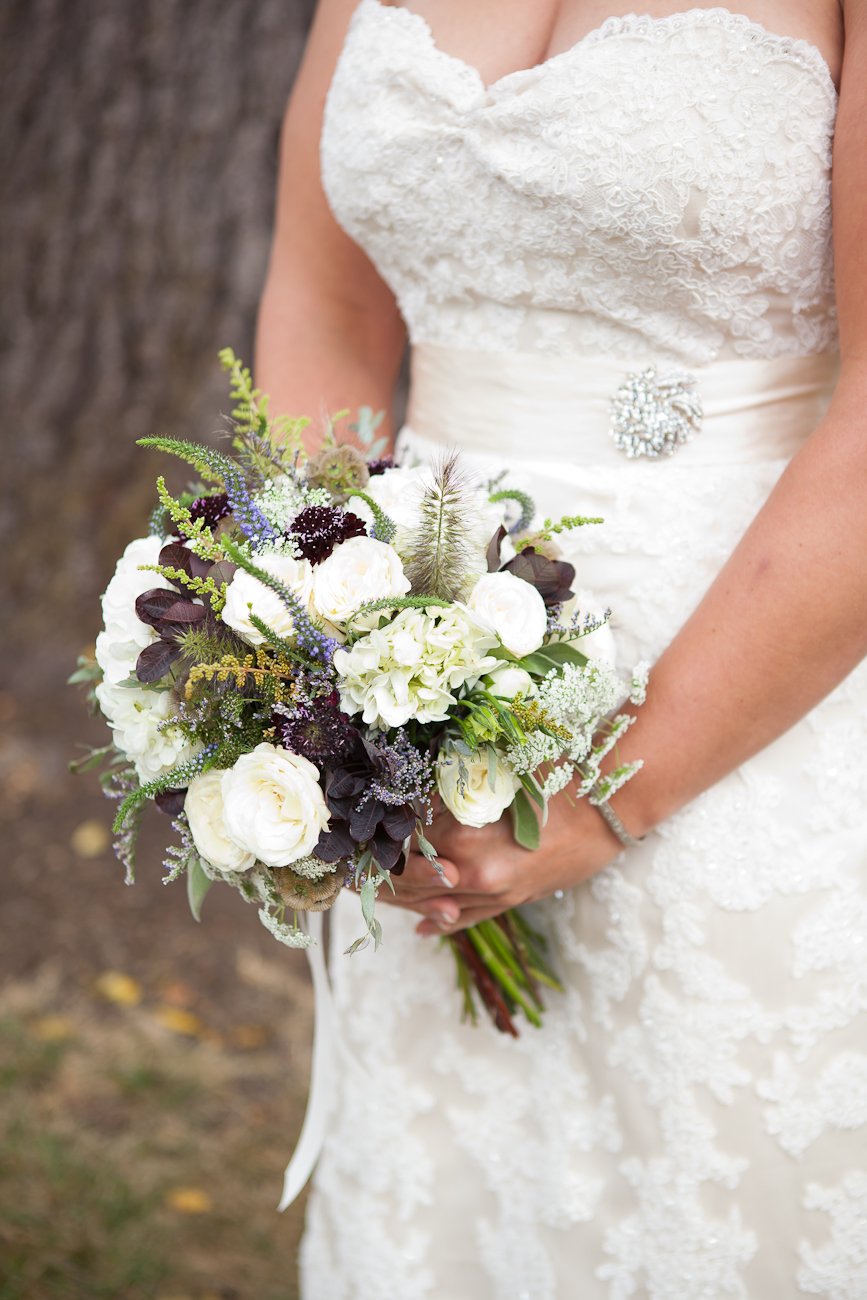 white-cream-purple-lavendar-green-wedding-bouquet