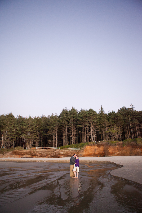 oregon-elopement-beach-standing-in-beach-stream