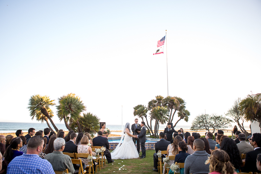 malibu oceanview wedding